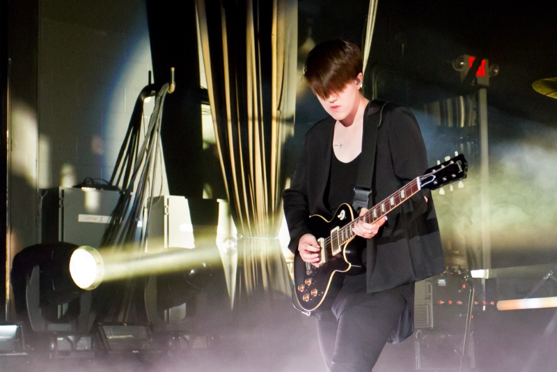 The xx at The LC Pavilion (Romy Madley Croft)