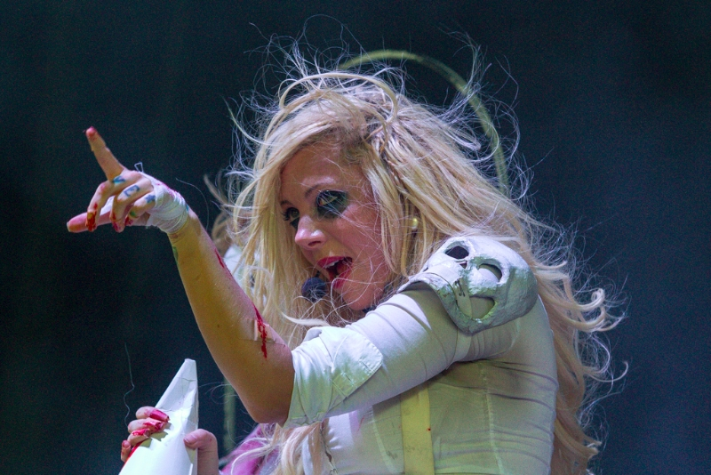 In This Moment at PNC Pavilion (Maria Brink)