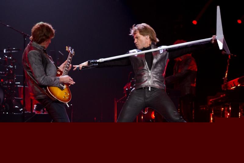Bon Jovi at Nationwide Arena (Jon Bon Jovi and Richie Sambora)