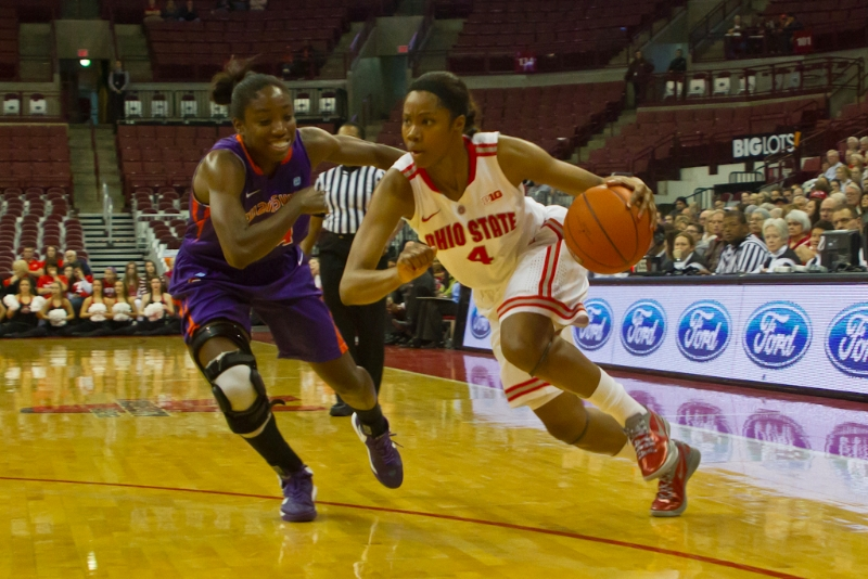 Ohio State Women's Basketball (Tayler Hill)