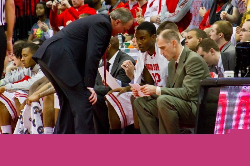 Ohio State Men's Basketball (Thad Matta and Sam Thompson)